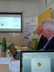 2nd meeting in Baden, at COS